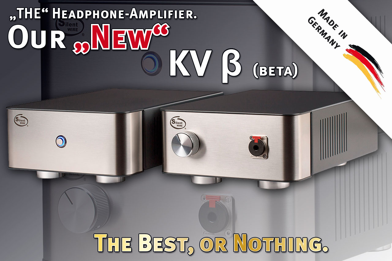 "our new headphone amp KV ""Beta"""