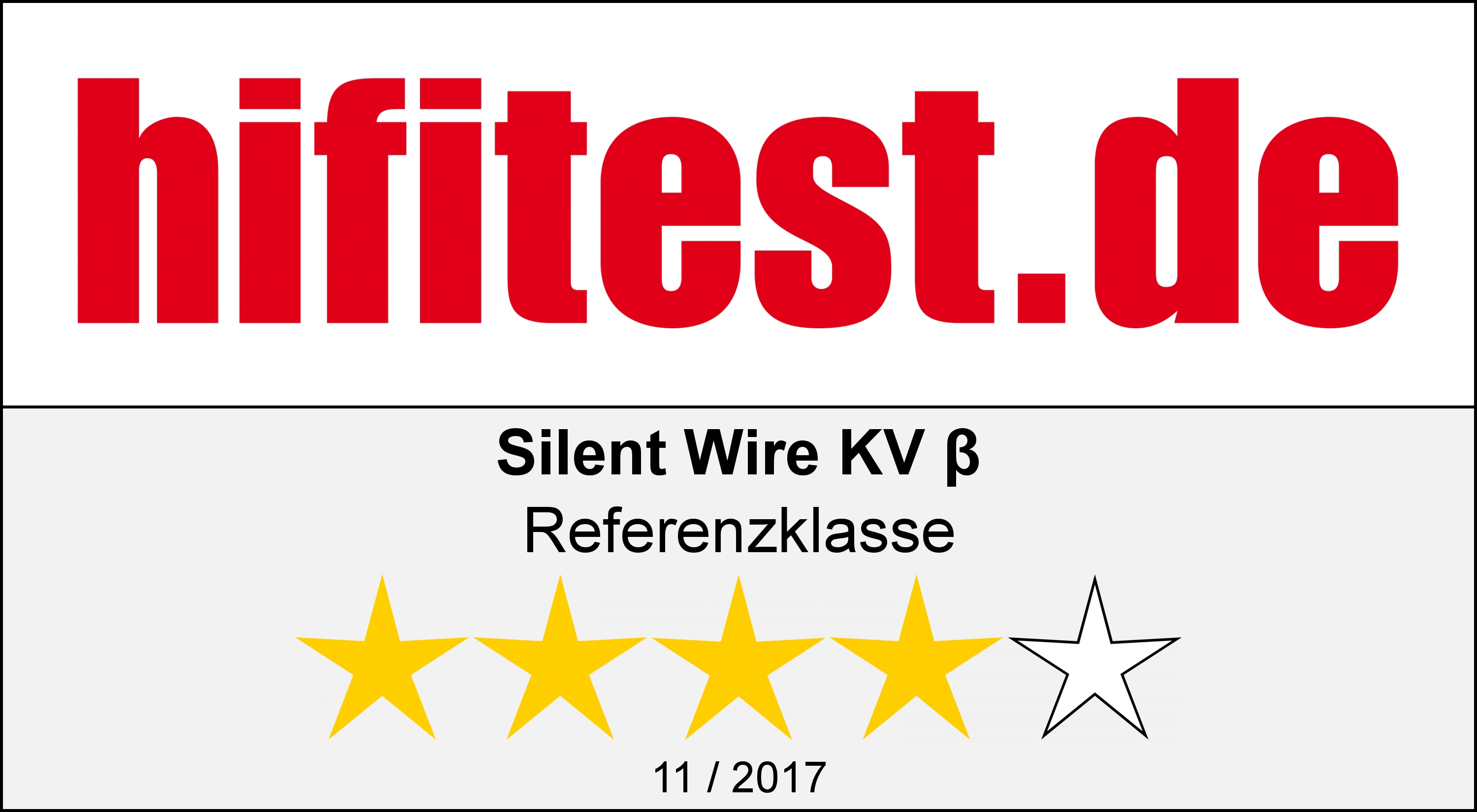 Silent WIRE KV Beta auf hifitest.de