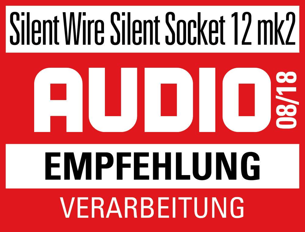 Audio EMPFEHLUNG Silent Wire Silent Socket 12 mk2 08/2018
