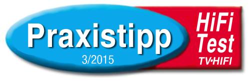 hifi test praxistipp 3-2015 logo