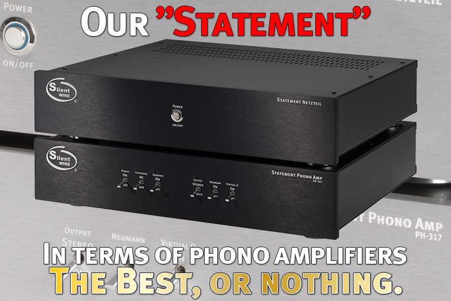 STATEMENT phono amp Teaser